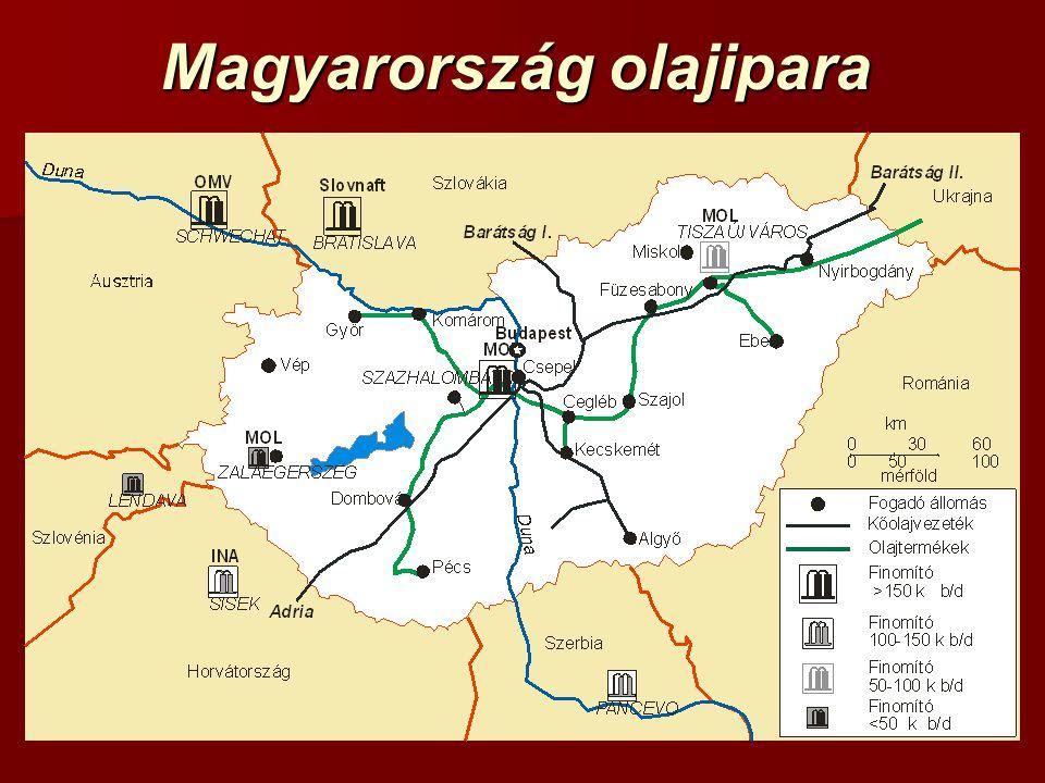 Magyarország olajipara