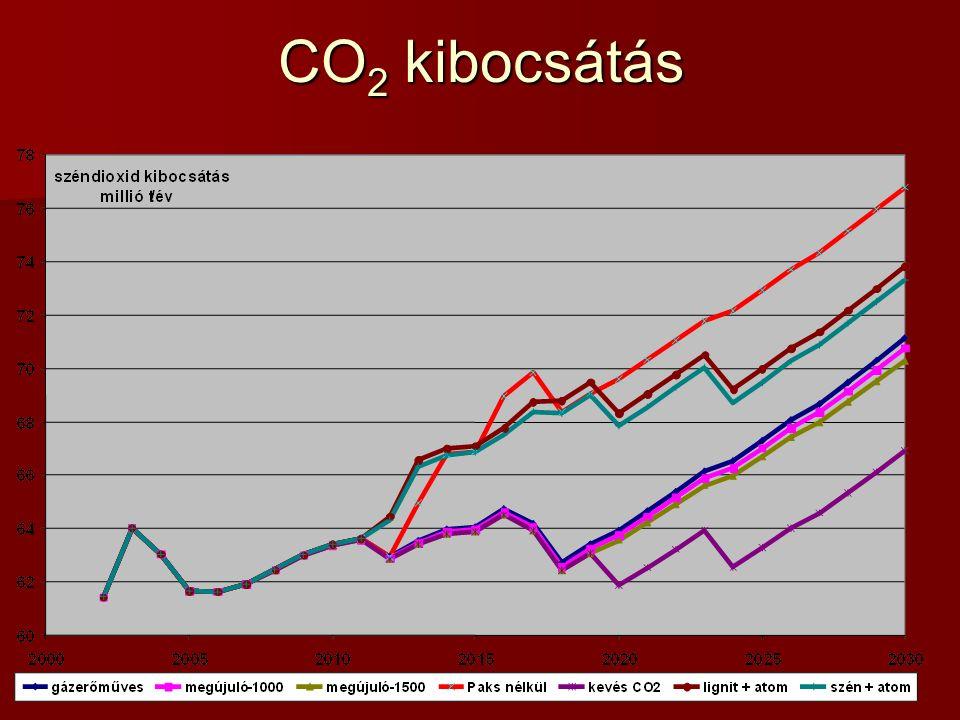 CO 2 kibocsátás