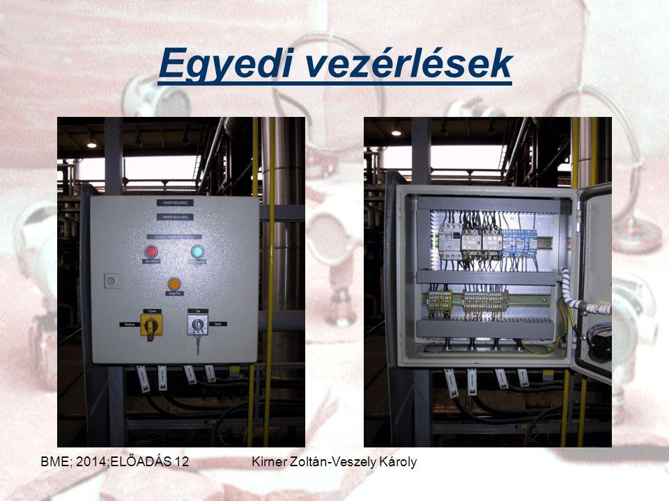 Vezérlés Nyílt hatásláncú irányítási művelet XvXb Xm Xz Ab Eb Ak Ek Érzékelő szervVezérlőBeavatkozó sz. Vezérelt berendezés Rendelkező jel Módosított