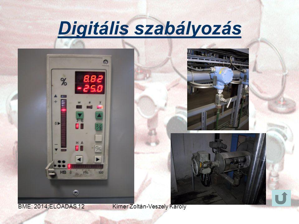 Analóg szabályozás BME; 2014;ELŐADÁS 12Kirner Zoltán-Veszely Károly