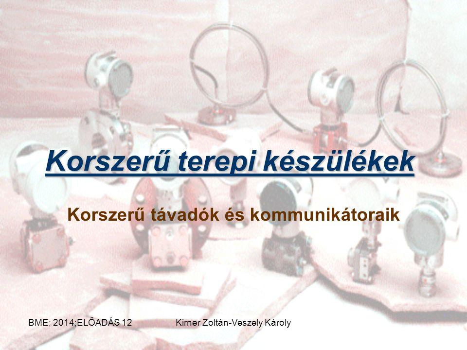 Gázturbina G GÁZ OLAJ LEVEGŐ BE GT KOMP. SFC FG KILÉPÉS BME; 2014;ELŐADÁS 12Kirner Zoltán-Veszely Károly