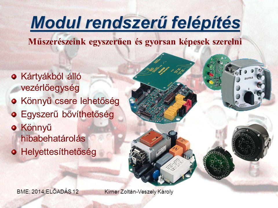 Beavatkozó szervek Nyit-Zár Szabályozó Léptető Egyszerű funkciótól a bonyolult szabályozási feladatokra egyaránt alkalmas Széleskörű gyártmány választ