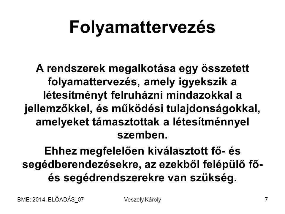 BME: 2014. ELŐADÁS_06 Veszely Károly48
