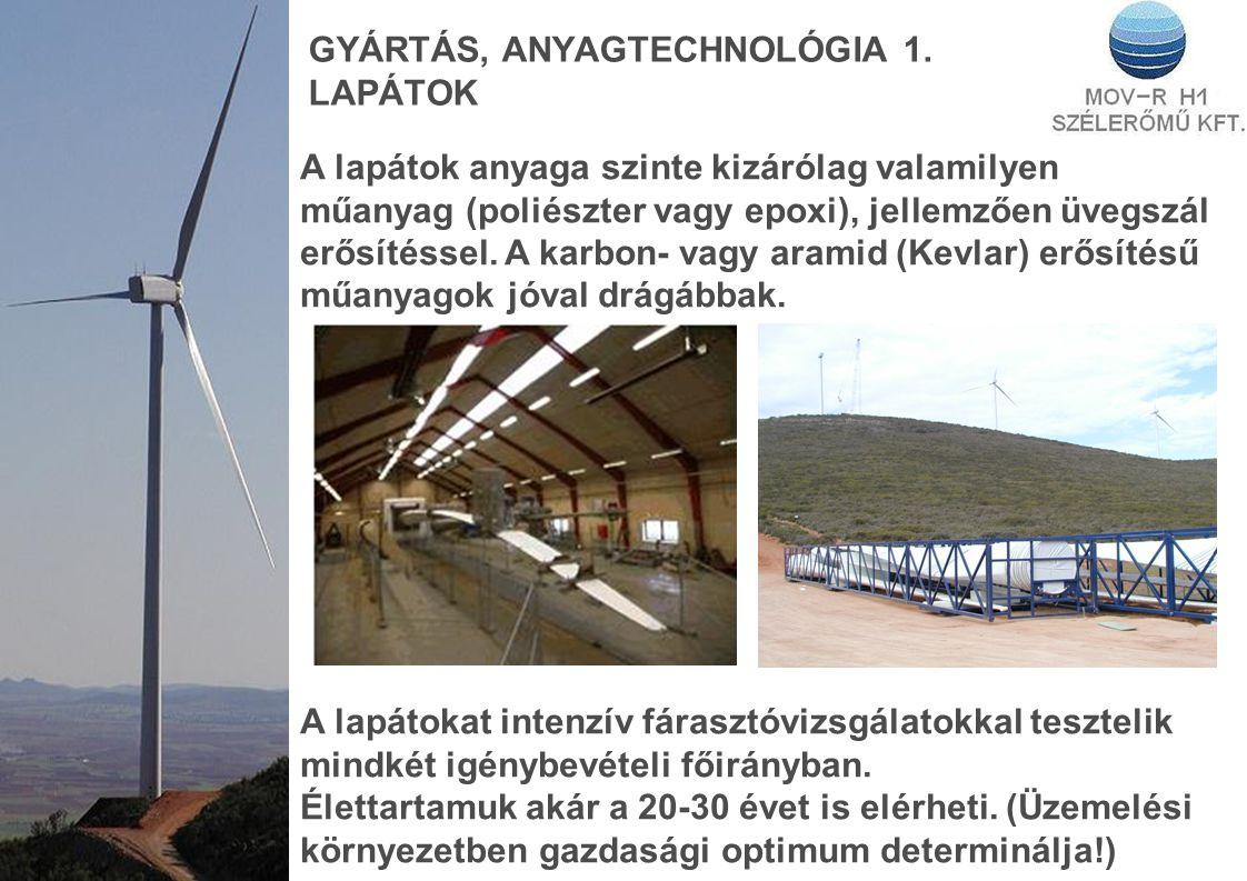 GYÁRTÁS, ANYAGTECHNOLÓGIA 1.