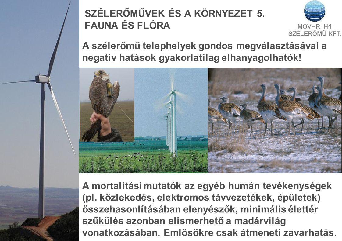 SZÉLERŐMŰVEK ÉS A KÖRNYEZET 5.