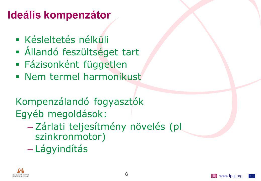 www.lpqi.org 27 Áttérve viszonylagos egységekre: