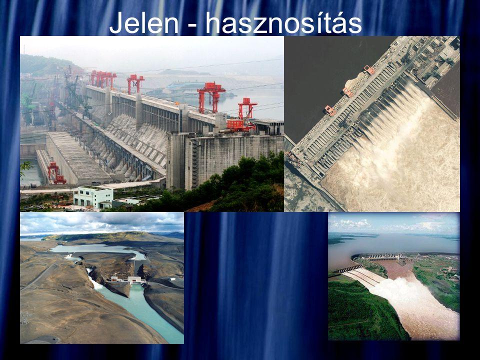 Vízerőmű Vízenergiát hasznosítja, elektromos áram kinyerésére.