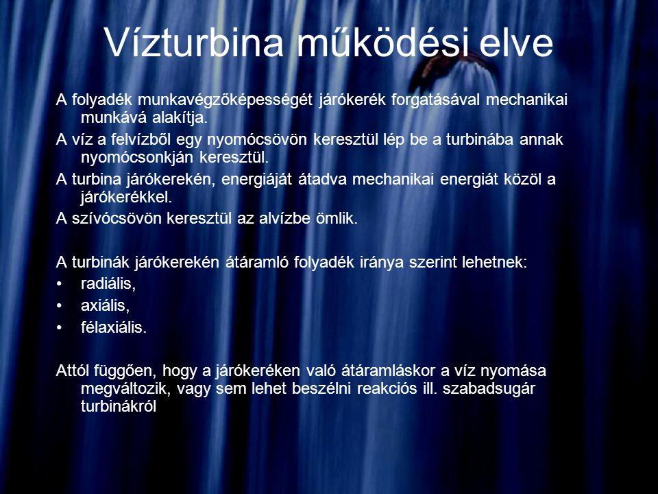 Magyar vízenergia Elméletileg a hasznosítható vízerőkészlet-teljesítményt 1060 MW-ra becsülik, amely átlagos évben 4500 GWh energiatermelésnek felel meg.