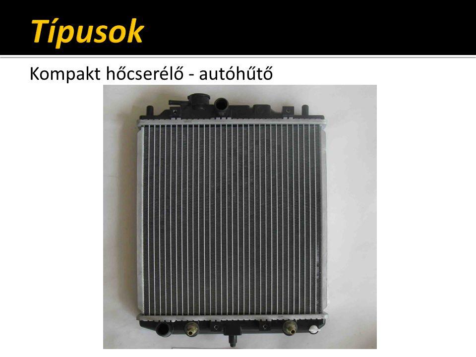 Kompakt hőcserélő - autóhűtő