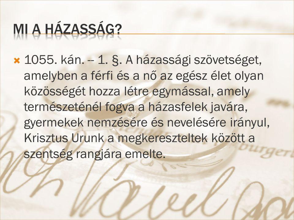  1055. kán. -- 1. §.