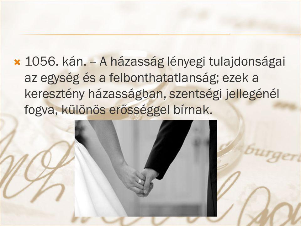  1057.kán. -- 1. §.