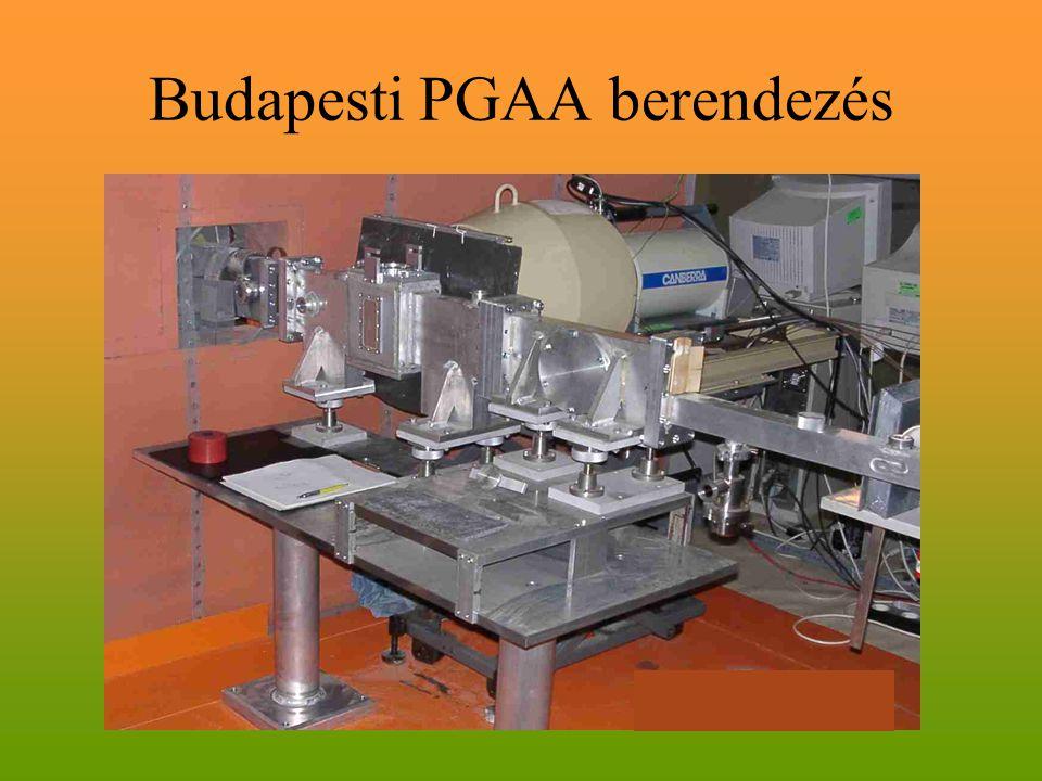 Budapesti PGAA berendezés