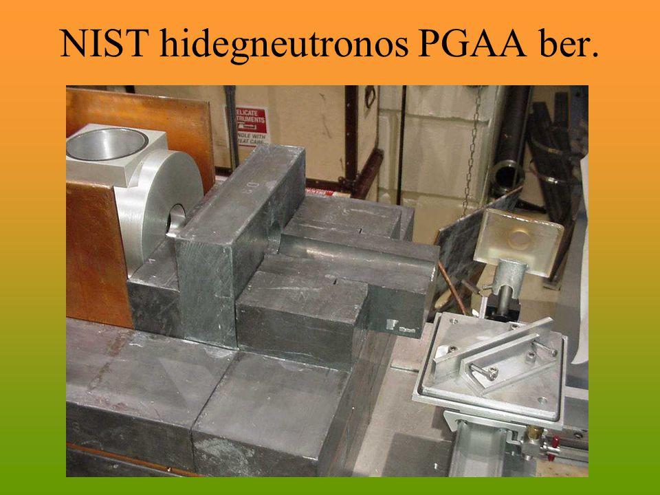 NIST hidegneutronos PGAA ber.
