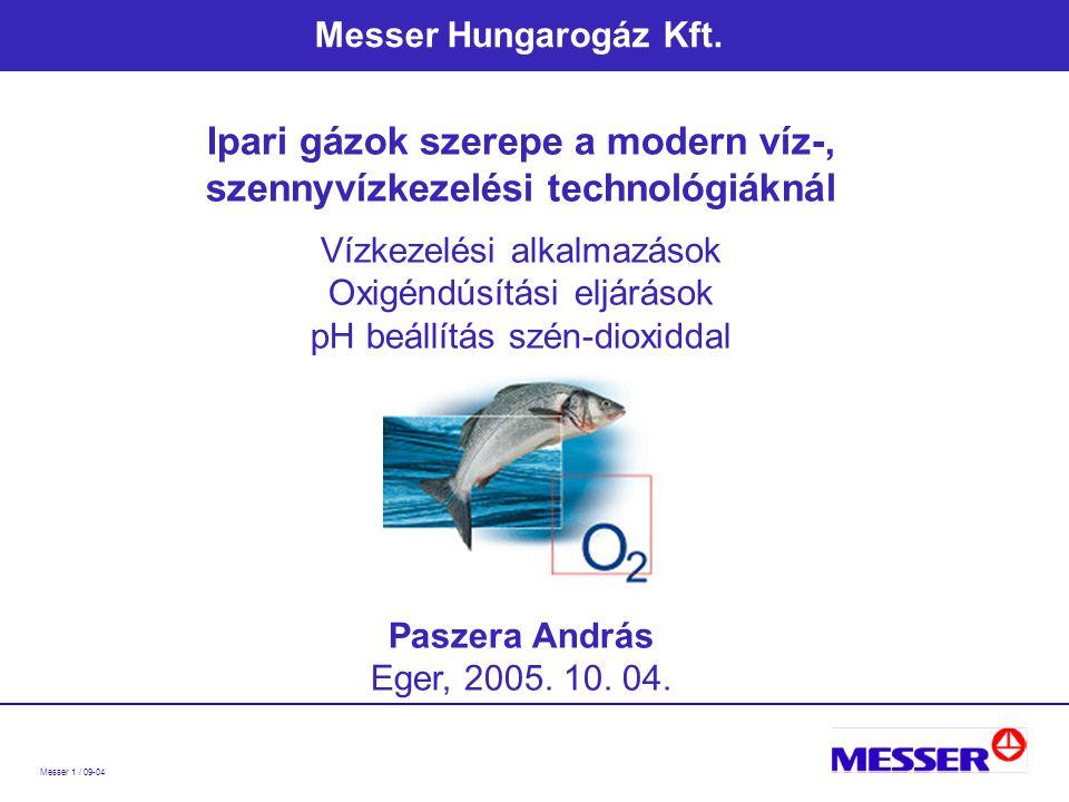 Messer 1 / 09-04 Messer Hungarogáz Kft.