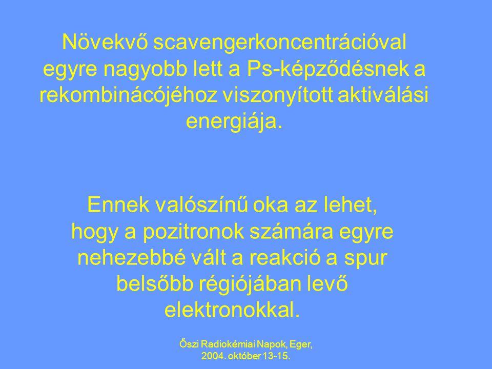 Őszi Radiokémiai Napok, Eger, 2004. október 13-15.