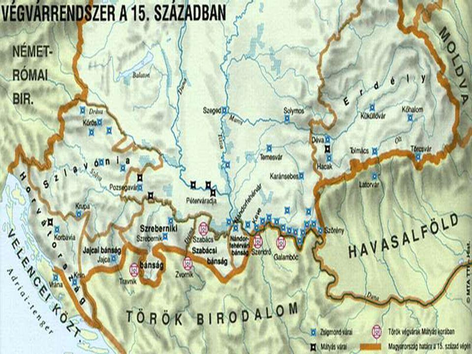 Hunyadiak kora Erdély egyfajta ütköz ő terület A törökök sokszor betörnek, kisebb várakat foglalnak el H.