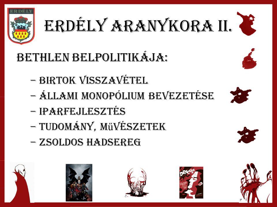 Erdély aranykora II.