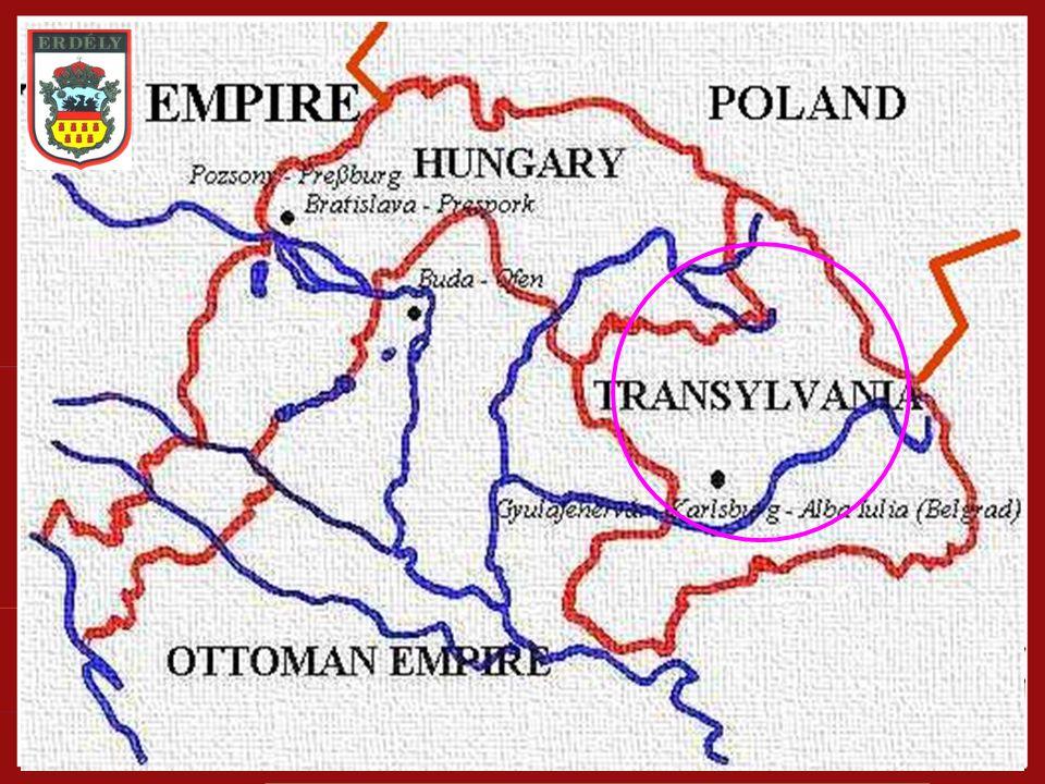 Erdély behatárolása Földrajzi-történelmi- politikai egység Részei: –Partium, Bánság, Székelyföld 2000 év…