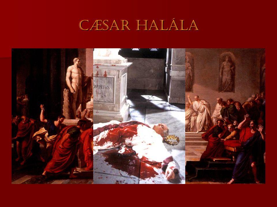 Cæsar halála