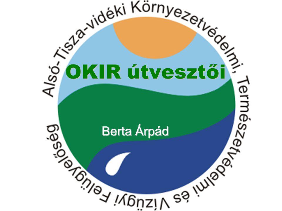 Országos Környezetvédelmi Információs Rendszer (OKIR)  A rendszer elsődleges feladata, hogy a környezet állapotának és használatának figyelemmel kísérését, igénybevételi és terhelési adatainak gyűjtését, feldolgozását és nyilvántartását támogassa, és az érintett felhasználókat (beleértve a nyilvánosságot is) ellássa a szükséges információkkal.