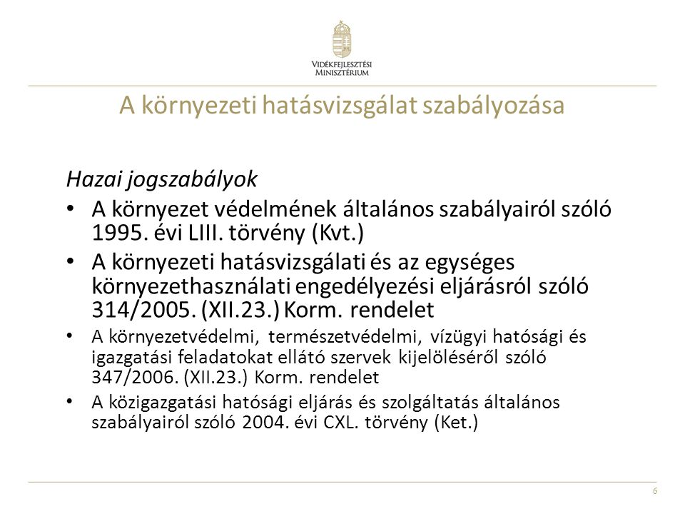 17 Problémás területek, megoldási javaslatok 314/2005.