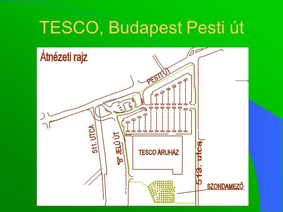 TESCO, Budapest Pesti út