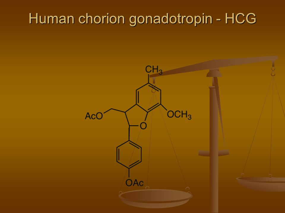 Human chorion gonadotropin - HCG