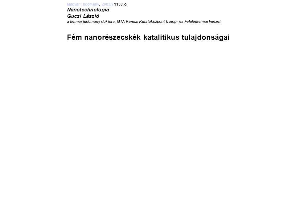 Magyar TudományMagyar Tudomány, 2003/9 1138.