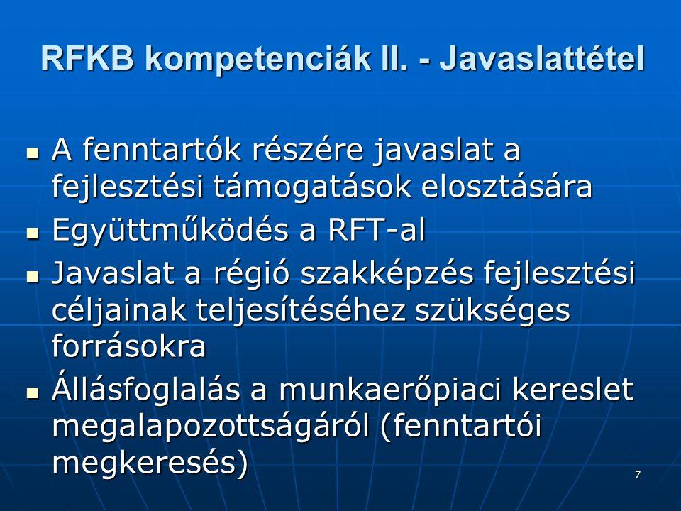7 RFKB kompetenciák II.