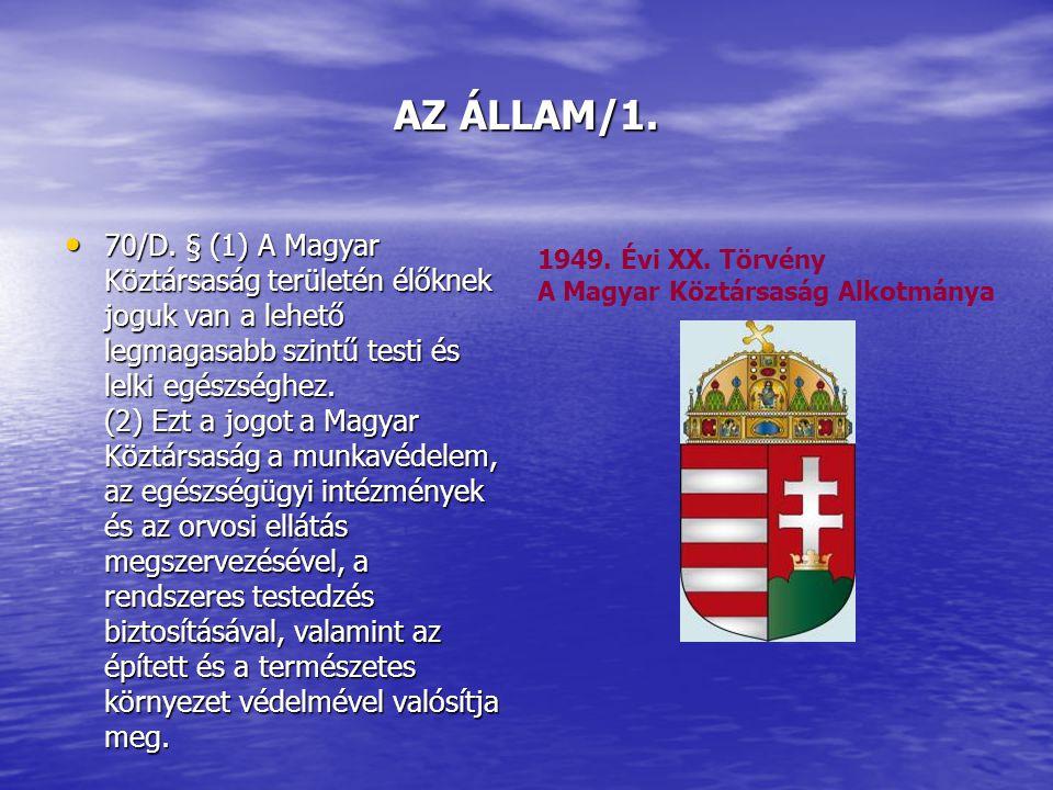 AZ ÁLLAM/1. 70/D.