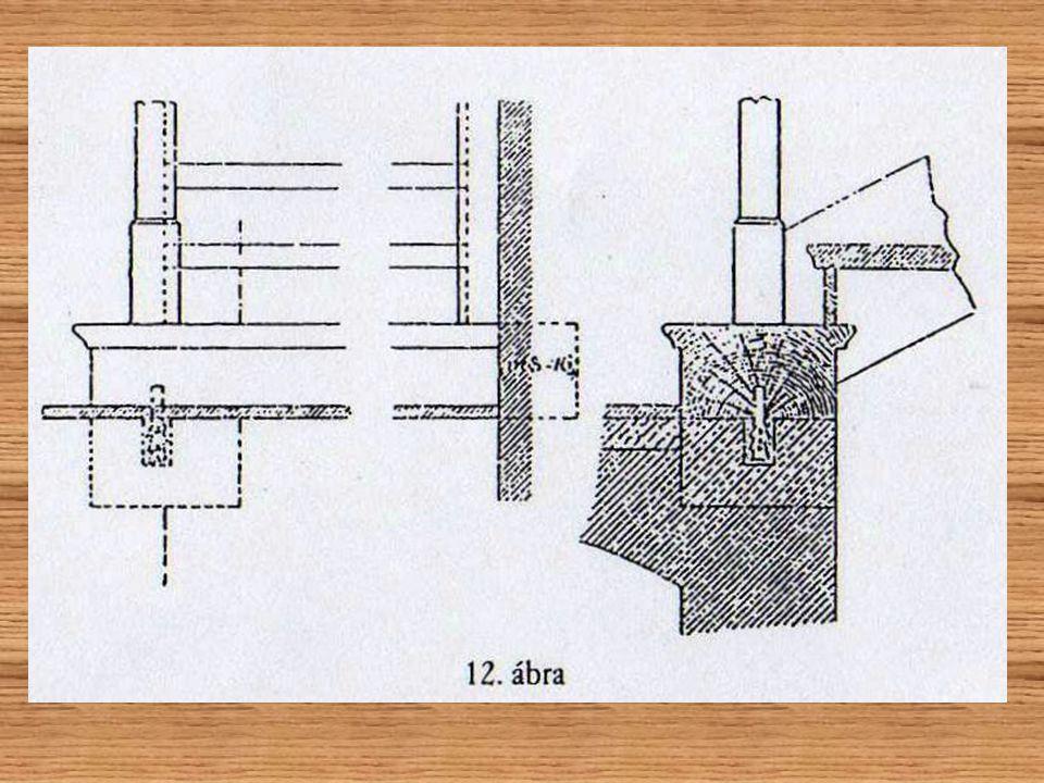 az alsó fokot rögzítették is a szerkezethez: az alsó fokot rögzítették is a szerkezethez: vagy egyszerűen csak befalaztákvagy egyszerűen csak befalazt