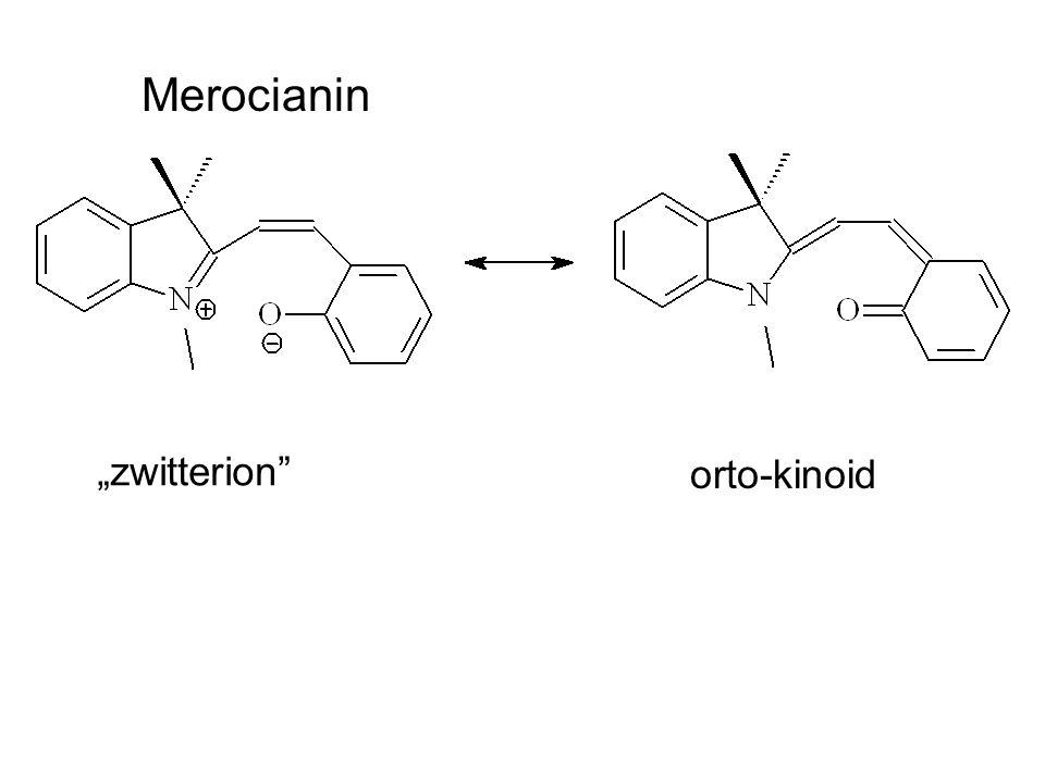 """Merocianin """"zwitterion"""" orto-kinoid"""