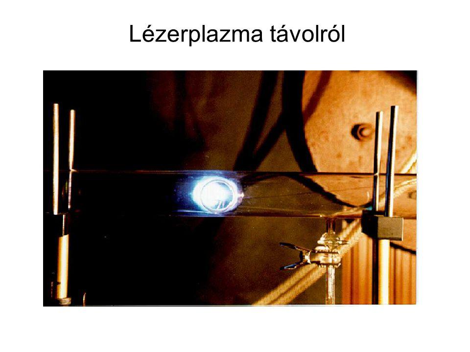 Lézerplazma távolról