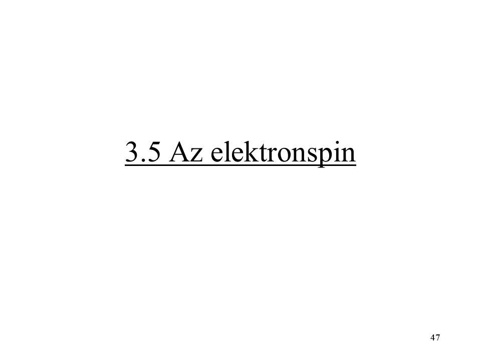 47 3.5 Az elektronspin 47