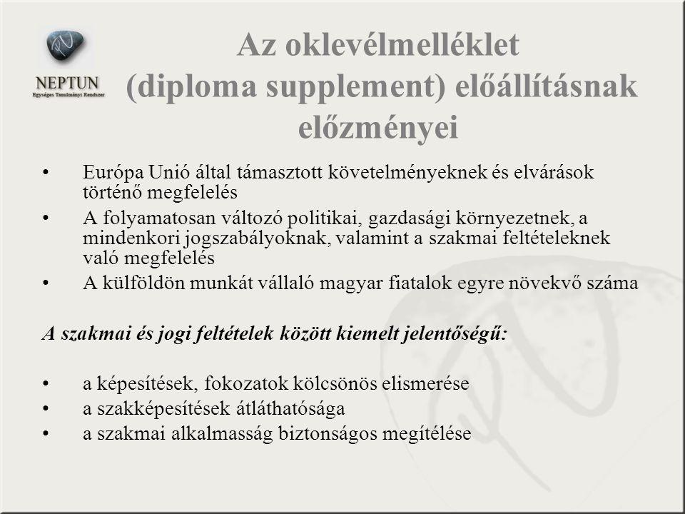 Európa Unió által támasztott követelményeknek és elvárások történő megfelelés A folyamatosan változó politikai, gazdasági környezetnek, a mindenkori j