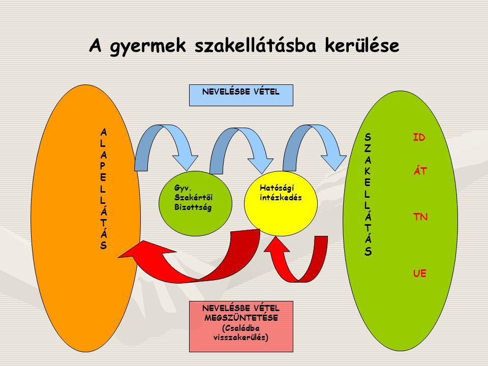 Kiskorúakból átmeneti nevelt: 441 fő Bonyhád – 7 (7) Dombóvár – 77 (77)Szekszárd – 89 (187) Tamási – 59 (81)Paks – 59 (89)Bátaszék - 16 Simontornya - 22Dunaföldvár - 30Tolna - 82 Gyermekek/fiatalok gyámhivatali illetékesség szerint (2008.