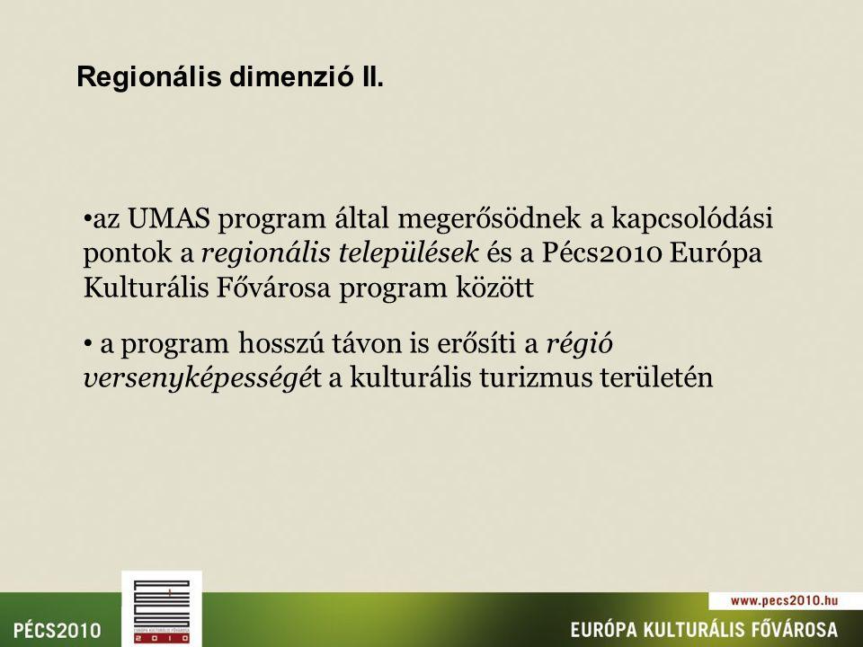 Regionális dimenzió II.
