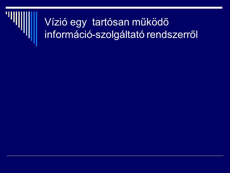 Vízió egy tartósan működő információ-szolgáltató rendszerről