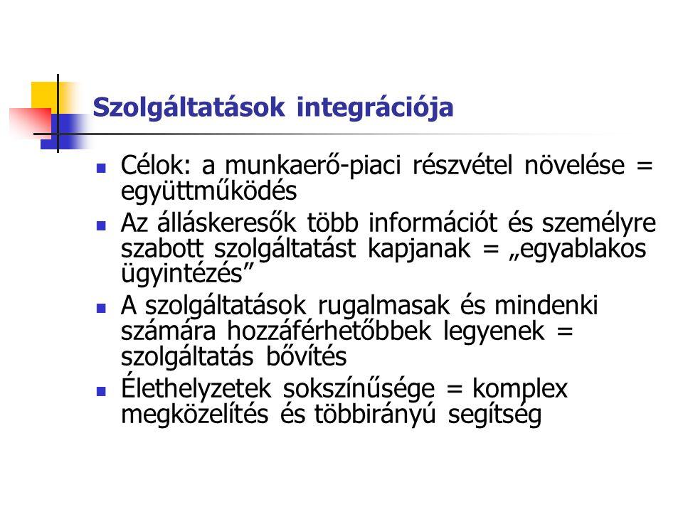 Megvalósítási módok Kinek a bázisán valósul meg az integrált rendszer .