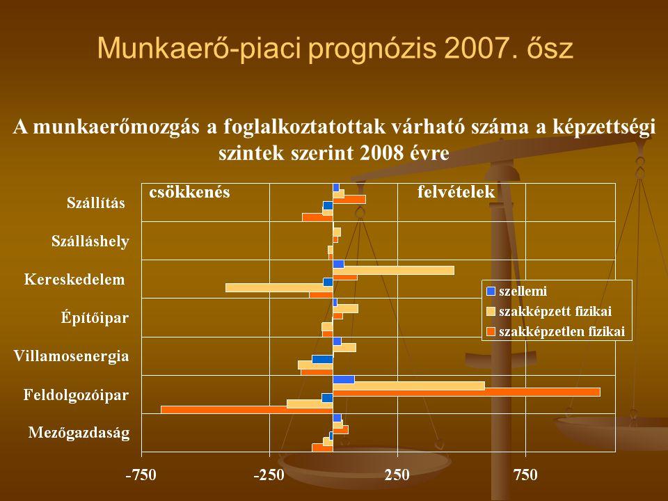 Munkaerő-piaci prognózis 2007.