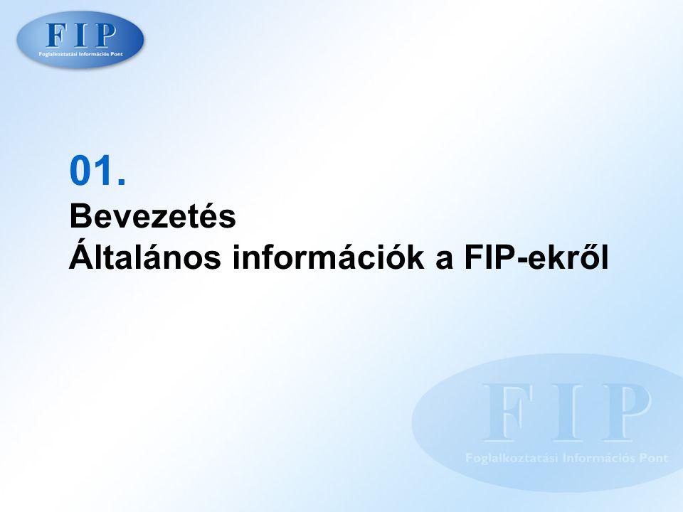 01. Bevezetés Általános információk a FIP-ekről