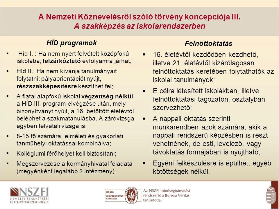 Változások A Kormány 225/2011.(X. 24.) Korm.