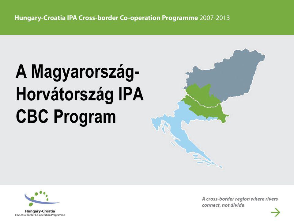 A Magyarország- Horvátország IPA CBC Program