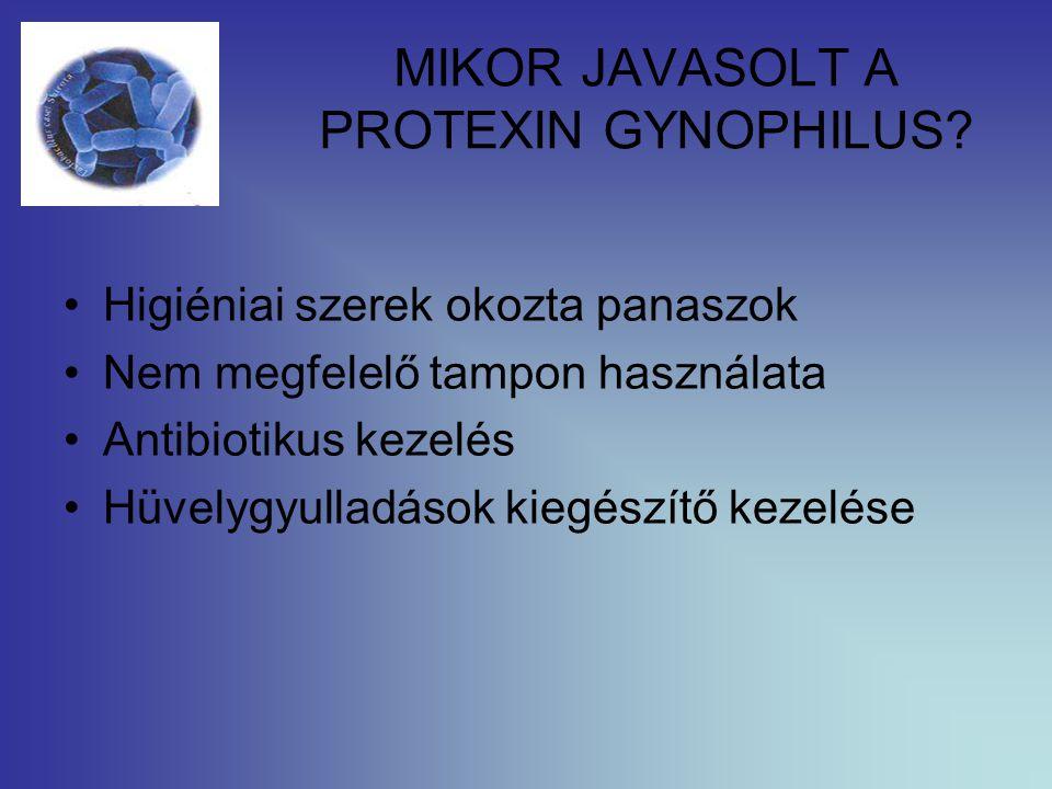 MIKOR JAVASOLT A PROTEXIN GYNOPHILUS.
