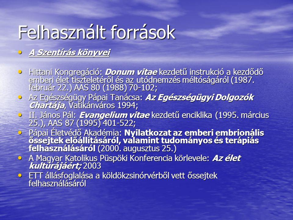 Magyar Orvosi Kamara állásfoglalása (2006.