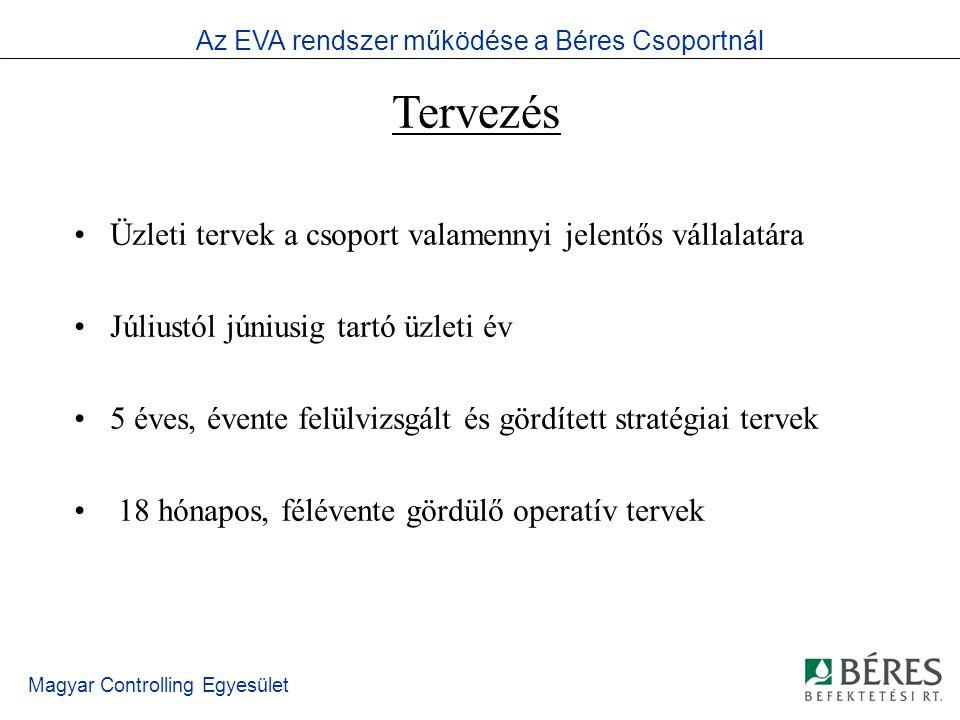 Magyar Controlling Egyesület Jelentések I.