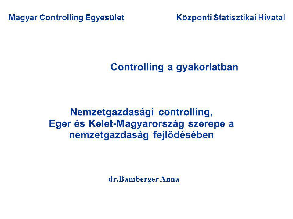 Nemzetgazdasági controlling Közigazgatási intézmények= költségvetési szervek vagy/és?.