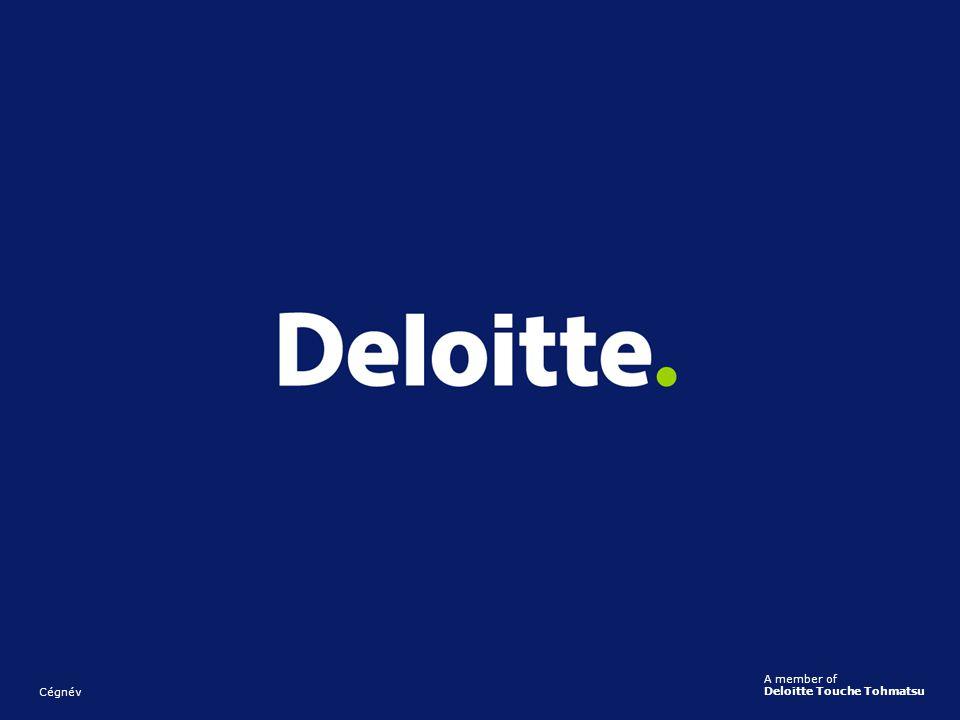 Cégnév A member of Deloitte Touche Tohmatsu