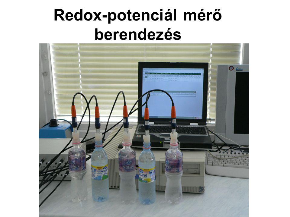 Redox-potenciál mérő berendezés