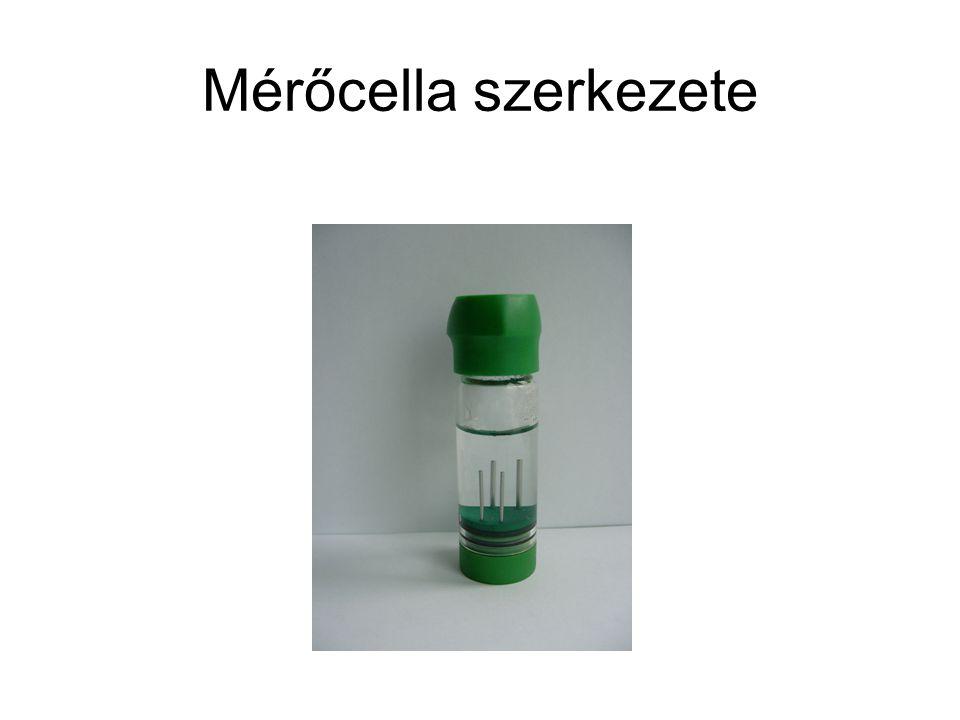 Mérőcella szerkezete
